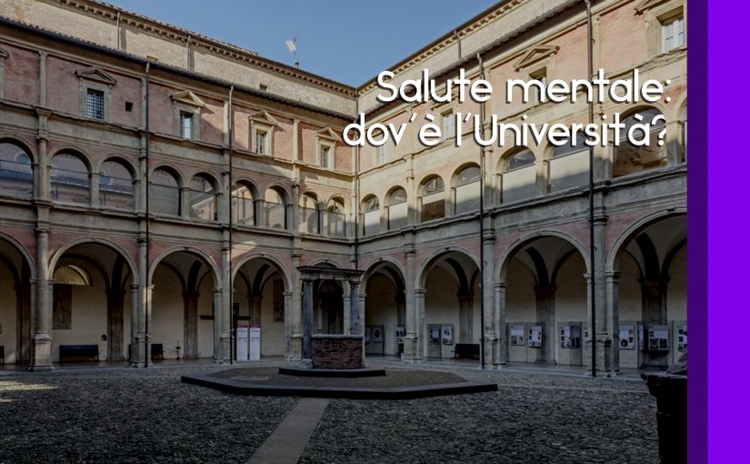 Salute mentale: dov'è l'Università?